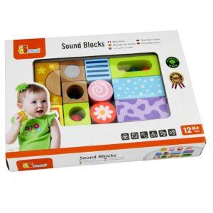 Sound Blocks, 12 pieces