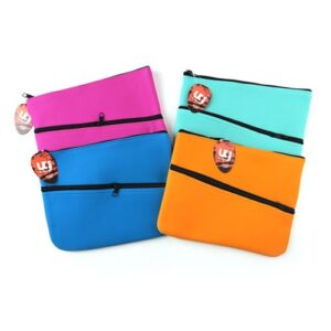 Pencil Case with 2 zips, 320 x 250mm