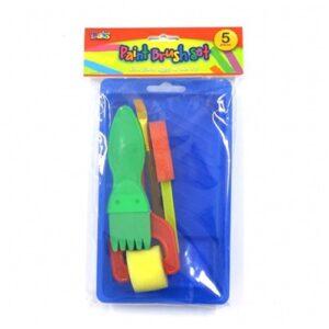 Paintbrush Tray Set, 5 pack