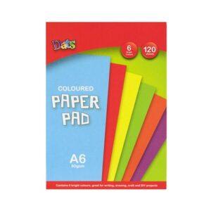 Pad Paper, Bright Colours, A6