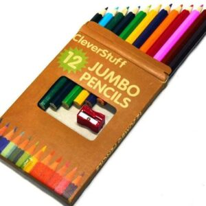 Pencils, Jumbo, 12 colours
