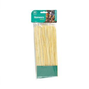 Bamboo Skewers, 80 pack, 20cm x 3mm