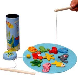 Fishing Game Tin Box