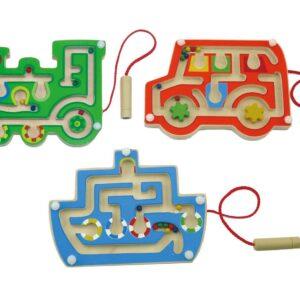 Transport Magnetic Labyrinth